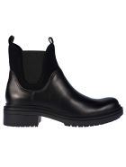 Bikkembergs Elasticated Side Ankle Boots - Black