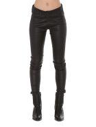Sylvie Schimmel Fun Strecht Vintage Leather Trousers - Black