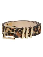 B-Low the Belt B. Low The Belt Leopard Print Belt - Leopard Gold