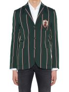Kent & Curwen 'contemporary College' Jacket - Green