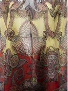 Etro Patchwork Print Poncho - Fantasia