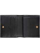 Alexander McQueen Skull Micro Leather Wallet - black