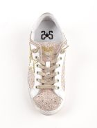 2Star Embroidered Stars Sneakers - Rosa/bianco