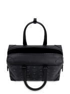 MCM Soft Berlin Visetos Handbag - black