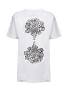 Rokh Short Sleeve T-Shirt - Bianco nero