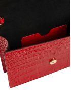 Alexander McQueen Skull Clutch - Red