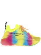 Stella McCartney Eclypse Sneakers In Rainbow Eco Leather - Rainbow