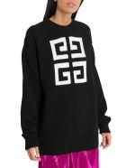 Givenchy 4g Sweater - Nero/bianco