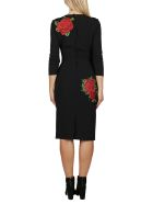 Dolce & Gabbana Black Viscose Blend Dress - Black