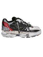 Maison Margiela Fusion Sneakers - RED/BLACK/WHITE