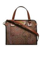 Etro Logo Plaque Tote - Basic