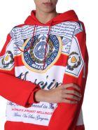 Moschino Hooded Sweatshirt - ROSSO