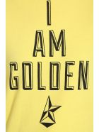 Golden Goose Golden T-shirt In Yellow Cotton - yellow