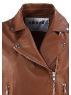 S.W.O.R.D 6.6.44 Brown Lambskin Jacket - Cuoio