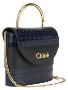 Chloé Small Abylock Padlock Bag - Full blue