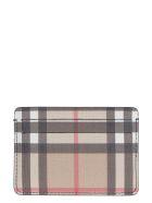 Burberry Vintage Check Card Holder - Beige