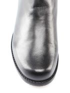 Stuart Weitzman Lambskin Stretch Gabardine Boot - Black