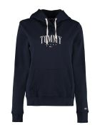 Tommy Jeans Cotton Hoodie - blue