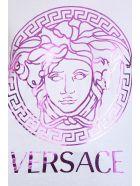 Versace T-shirt In White Cotton - white