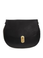 Coccinelle Black Leather Shoulder Bag - Black