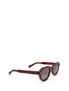 AHLEM Ahlem Grenelle Burgundy Sunglasses - BURGUNDY