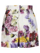 Dolce & Gabbana Floral Shorts - pink