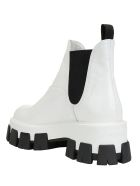 Prada Patent Boots - Bianco