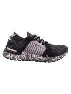 Adidas by Stella McCartney Polyester Sneaker - Black White / Black White / Solid Grey