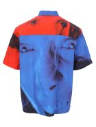 MSGM Dario Argento X Msgm Shirt - RED BLUE
