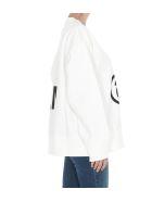MM6 Maison Margiela Logo Sweatshirt - White