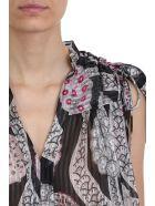 Isabel Marant Ezer Black Silk Top - black