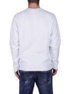 MSGM White Cotton Sweatshirt - White