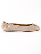 Tory Burch Minnie Logo Ballerinas - Perfect Sand