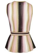 M Missoni Sleeveless Top - Rosa