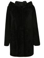 DROMe Fur Coat - Black