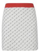 Stella McCartney Logo Knit Mini Skirt - Ivory