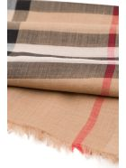 Burberry Check Scarf - Beige