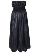 Nina Ricci Off-shoulder Dress - Dark Cyan