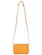 Bottega Veneta Mini Shoulder Bag - Light orange/gold