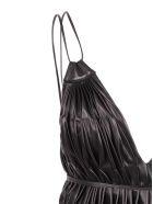 Giovanni Bedin Leather Dress - Black