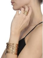 Federica Tosi Armour Stick Ring - GOLD
