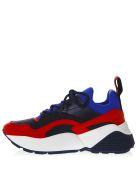 Stella McCartney Eclypse Blu Faux Leather Sneakers - Blue/red