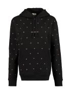Saint Laurent Cotton Hoodie - black