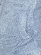 Avant Toi Ripped Details Cardigan - DENIM