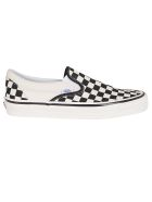 Vans Black And White Canvas 98 Sneakers - BLACK WHITE