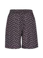 Givenchy Printed Swim Shorts - black