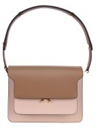 Marni Trunk Shoulder Bag - PINK MULTI