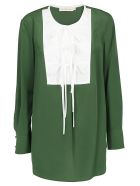 Tory Burch Shirt - Equestrian green