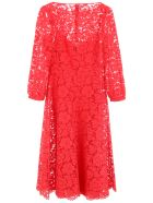 Valentino Lace Dress - ROSSO (Red)