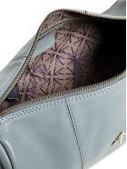 MANU Atelier Cylinder Leather Shoulder Bag - Stone blue